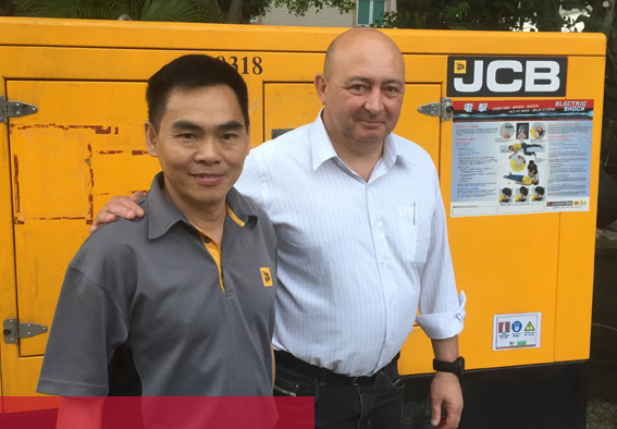 JCB DEMO LEADS TO CRESTCHIC LOADBANK PURCHASE BY HONG KONG DEALER