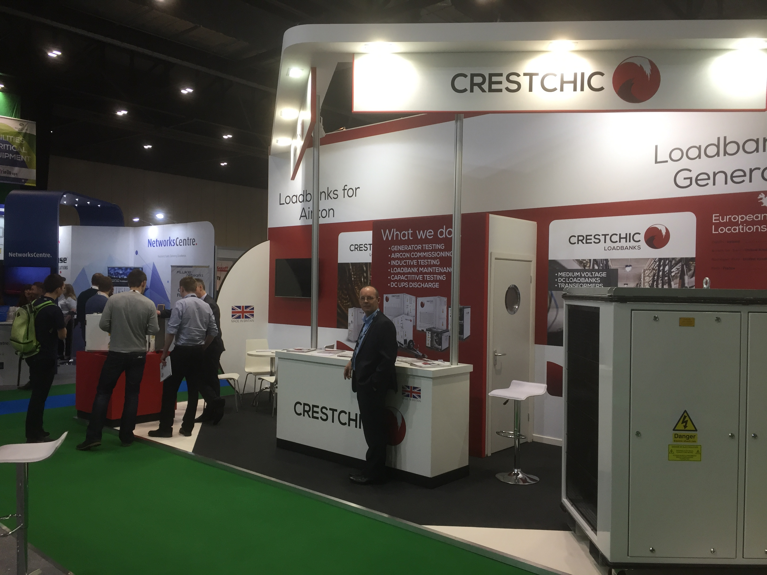 Crestchic at Data Centre World Expo 2017